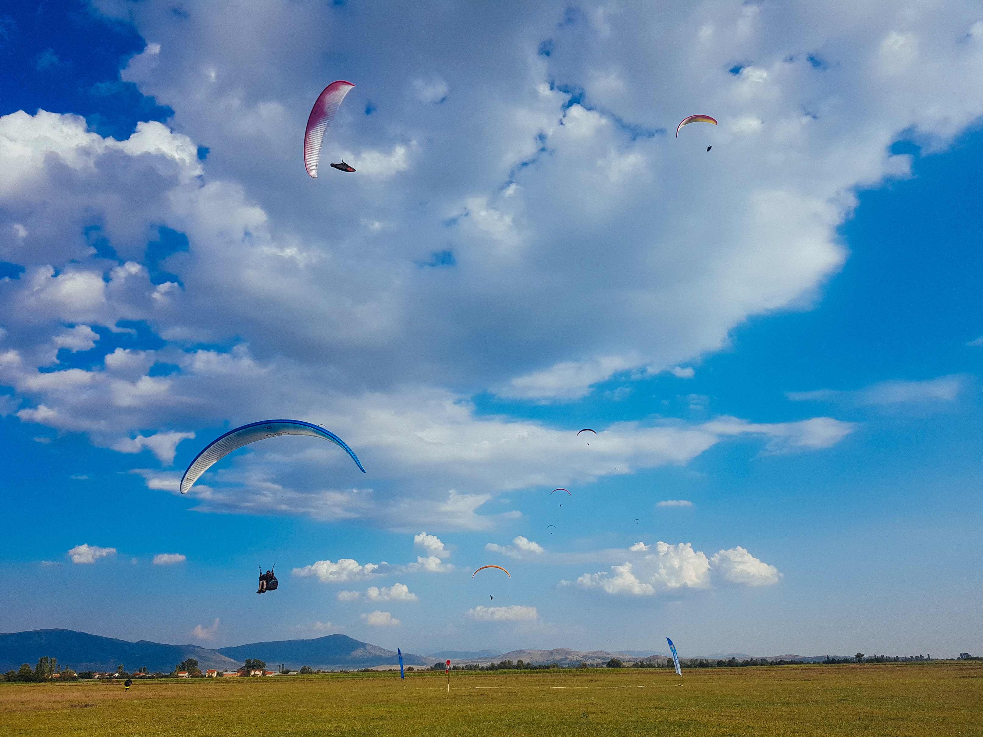 Paragliders over Krusevo 2018